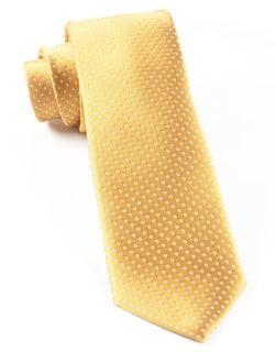 Pindot Gold Tie