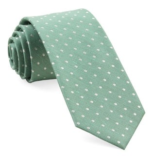 Dotted Dots Mint Tie