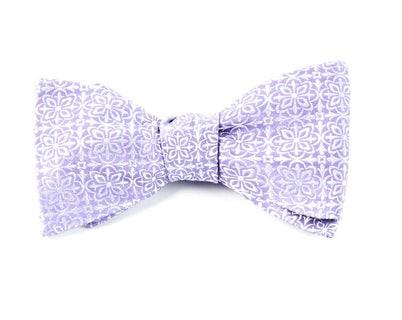 Opulent Lilac Bow Tie
