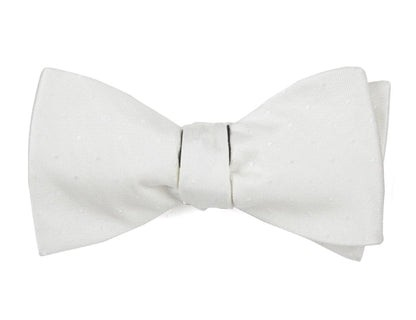 Love At First Dot Ivory Bow Tie