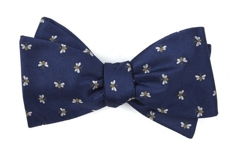 Reeds Bees Navy Bow Tie