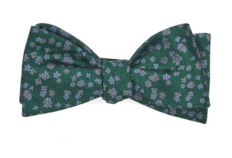Free Fall Floral Kelly Green Bow Tie