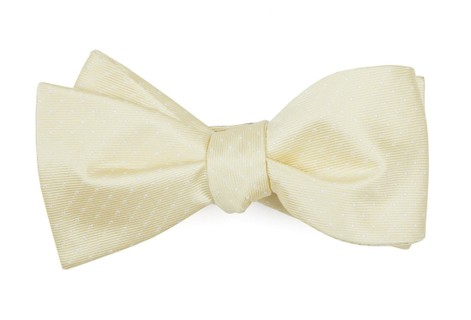 Mini Dots Butter Bow Tie