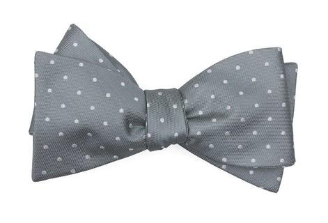 Mumu Weddings - Seaside Dot Silver Sage Bow Tie