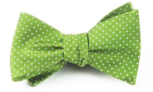 Pindot Apple Bow Tie