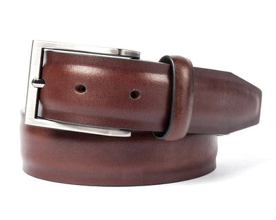 Solid Leather Brown Belt