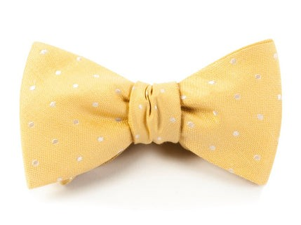 Dotted Dots Butter Bow Tie