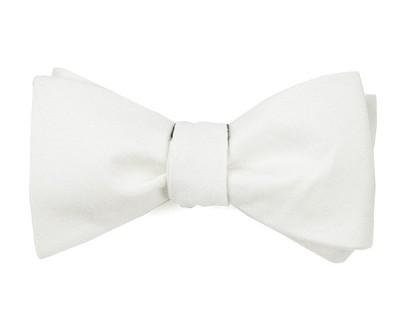 Linen Row Ivory Bow Tie