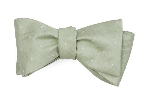 Bulletin Dot Sage Green Bow Tie