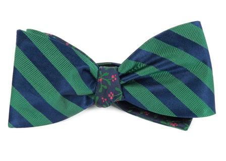Twill Mistletoe Kelly Green Bow Tie