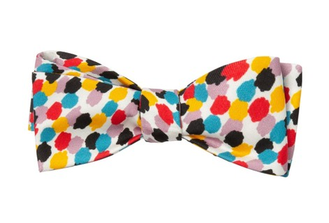 Marlon Bundo White Bow Tie