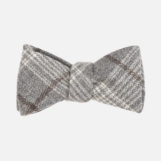 Barberis Wool Freddo Grey Bow Tie