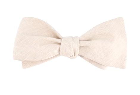 The Tulum Classic Beige Bow Tie