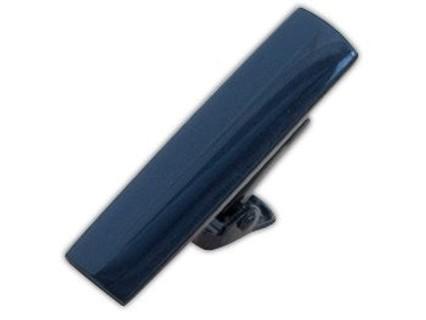 Metallic Color Navy Tie Bar