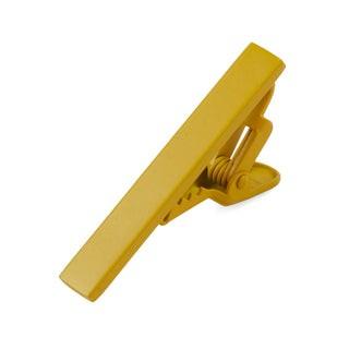 Matte Color Yellow Tie Bar