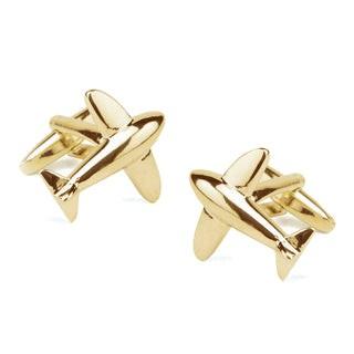 Flight Gold Cufflinks