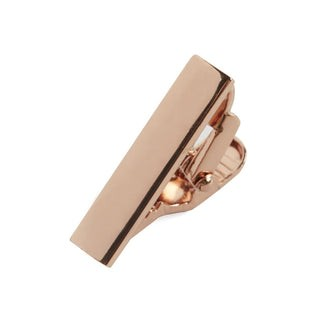 Rose Gold Shot Tie Bar