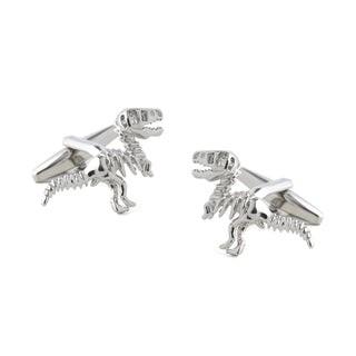 Dinosaur Dig Silver Cufflinks
