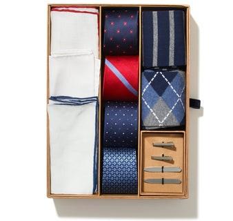 The Essentials Box Navy Gift Set