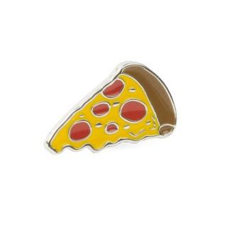 Nyc Pizza Silver Lapel Pin