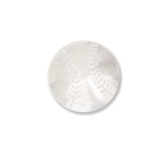 Baseball Silver Lapel Pin