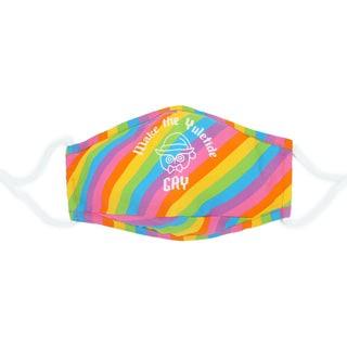 Queer Yuletide Purple Mask
