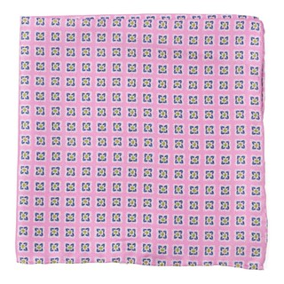 Medallion Breeze Light Pink Pocket Square