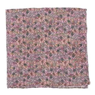 Wild Rosa Peach Pocket Square