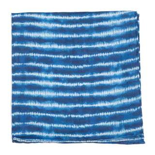 Day Dreamer Stripe Navy Pocket Square