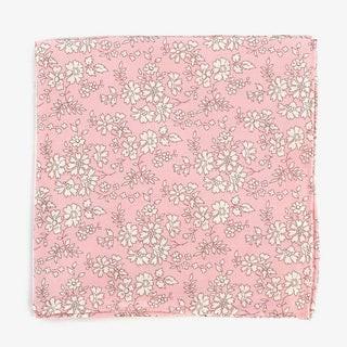 Liberty Capel Baby Pink Pocket Square