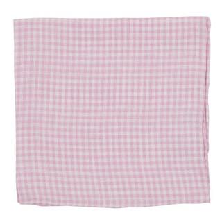 Revolution Checks Pink Pocket Square