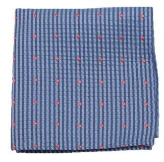 French Kiss Light Blue Pocket Square