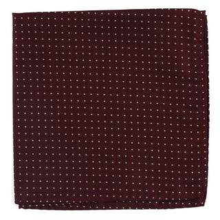Mini Dots Wine Pocket Square