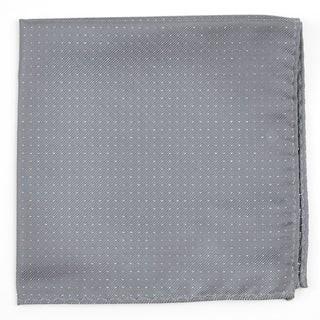 Flicker Silver Pocket Square