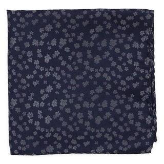 Free Fall Floral Lavender Pocket Square