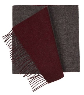 River West Solid Burgundy Scarf