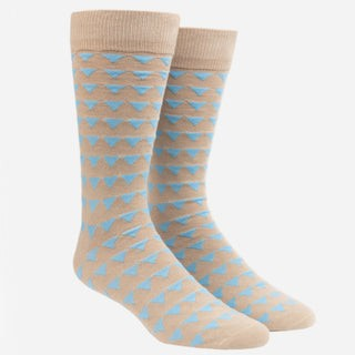 Triangle Geo Oat Dress Socks