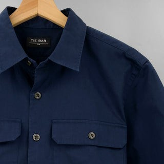 Utility Shirt Naval Navy Casual Shirt