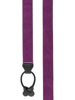 Festival Textured Solid Azalea Suspender