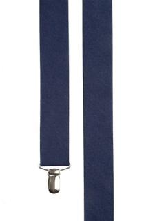 Linen Row Navy Suspender