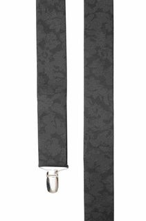 Refinado Floral Black Suspender