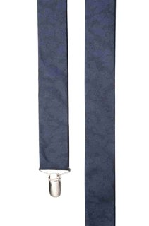 Refinado Floral Navy Suspender