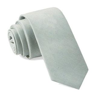 Bhldn Linen Row Morning Mist Tie