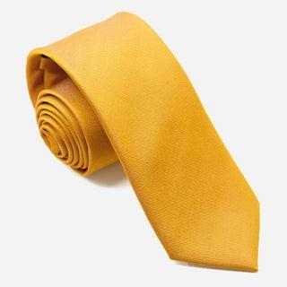 Grosgrain Solid Marigold Tie