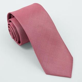 Herringbone Vow Rosewood Tie
