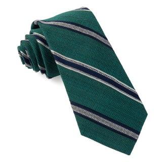 Hutton Stripe Teal Tie
