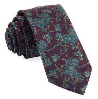 Trad Paisley Wine Tie