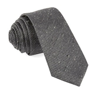 Five Star Solid Grey Tie