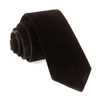 Formal Velvet Black Tie