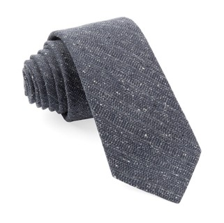 Bear Lake Solid Charcoal Tie